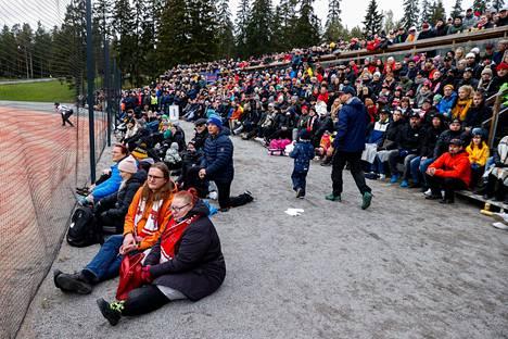 Manse PP:n otteet kiinnostavat Tampereella. Viime sunnuntaina Kauppi täyttyi miesten kolmannessa finaaliottelussa.