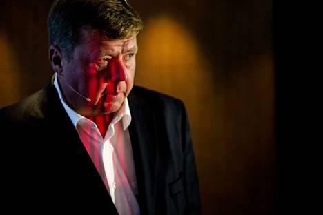 Hovioikeuden ex-toimitusjohtaja Pekka Perälle (kuvassa) antama tuomio jää voimaan. Sama pätee ex-tuotantojohtajan Lasse Lammassaaren tuomioon. KKO ei myöntänyt jutussa syyttäjän hakemaa valituslupaa.