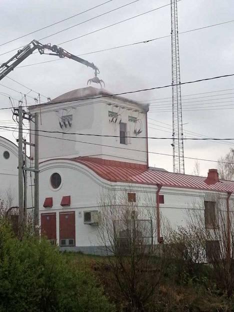 Paneliankosken voimalaitos on vuonna 1921 rakennettu pienvesivoimalaitos Eurajoessa.