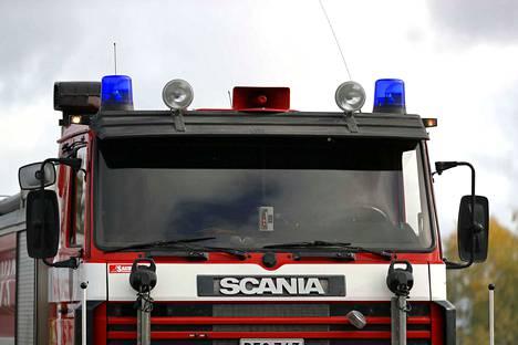 Omakotitalo kärsi huomattavia palo- ja savuvahinkoja Ruovedellä.