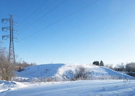 Hakametsän lumenkaatopaikalla on yhä tilaa uusille lumikuormille.