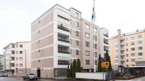 Entinen Mäntykadun päiväkoti on myynnissä nettihuutokaupassa. Tampereen kaupunki on luopunut muutamista omistamistaan päiväkodeista viime aikoina.