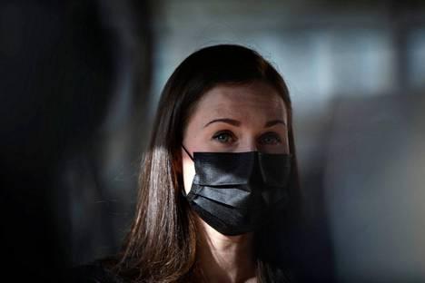 Sanna Marin kertoi ravintoloiden aukiolosuunnitelmista torstaina saapuessaan Säätytalolle hallituksen ja opposition keskusteluun koronaviruksen exit-suunnitelmasta.
