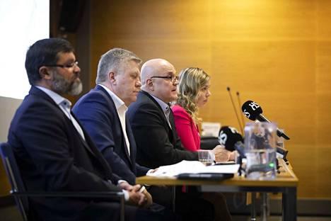 Tiedotustilaisuus pidettiin Helsingissä keskiviikkona.