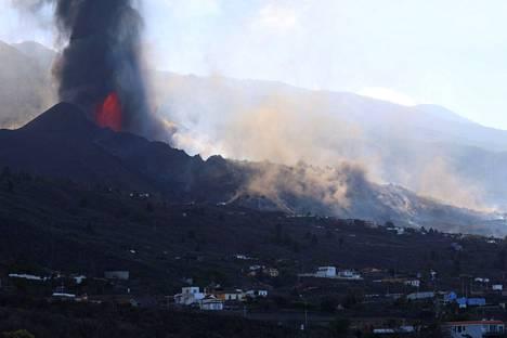 Cumbre Vieja -tulivuoren purkautuminen kiihtyi perjantaina. Tältä vuori näytti lauantaina 25. syyskuuta.
