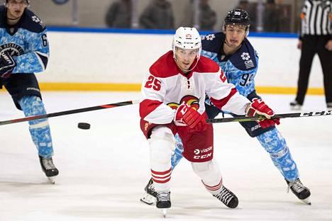 Haapala ei ole luopunut tavoitteestaan pelata vielä NHL:ssä.