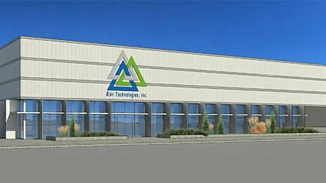 Kokemäen hankkeen takana oleva amerikkalaisyhtiö aikoo rakentaa tämän näköisen akkutehtaan Etelä-Dakotaan. Materiaali tulisi kenties Suomesta.