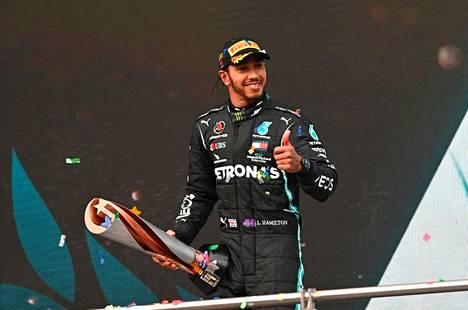 Lewis Hamilton, 35, sanoo olevansa vasta alussa.