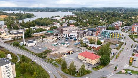 Koko Lempäälän asemanseutu on rakennustyömaata. Tampereentien, Valkeakoskentien, Lemponkadun ja Puistokadun rajaaman kehän sisään rakennetaan lähivuosina koti 2000 uudelle asukkaalle.