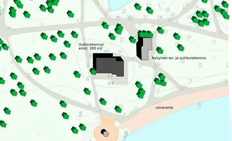 Onko Kirjuriin suunniteltu sauna liian suuri kulttuuriympäristössä vai sopiva? Porin kaupungin poikkeamislupa on nyt hallinto-oikeuden käsittelyssä.