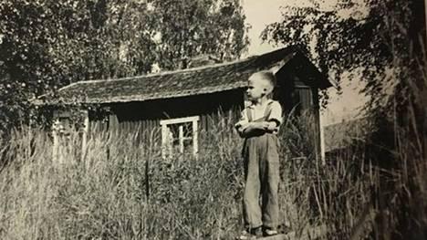 Tällainen oli Ilmi Väätäsen Keskimökki kuvattuna 1950-luvulla.