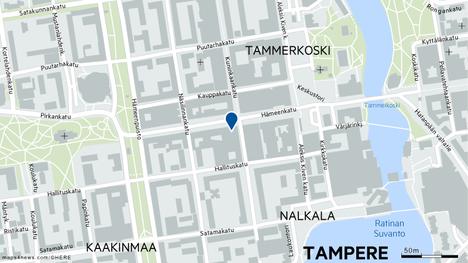 Tamperelaisesta yökerhosta on löytynyt yöllä vainaja. Aamulehden tietojen mukaan kyseessä on Hämeenkadulla sijaitseva ravintola Ihku.