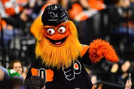 Gritty on Philadelphia Flyersin pörröinen maskotti.
