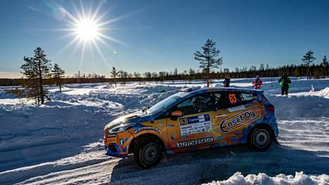 Lauri Joona lähti hakemaan voittoa Rovaniemeltä, mutta vauhti riitti tällä kertaa kakkossijaan.