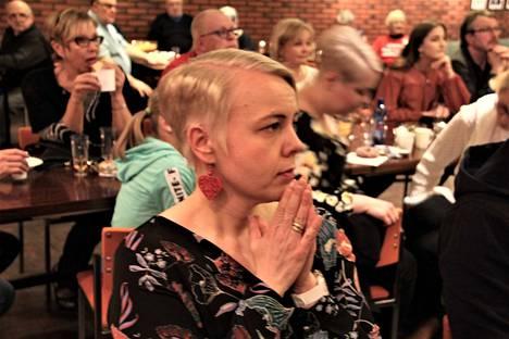 Tulihan se sieltä. Heidi Viljanen (sd.) on uusi alueemme kansanedustaja.