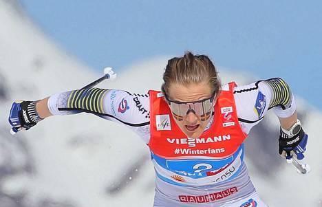 Stina Nilsson lienee nopein nainen ampumahiihtoporukassa ensi kaudella.