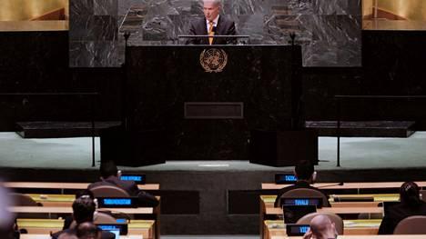Presidentti Sauli Niinistö otti puheessaan kantaa myös muun muassa Afganistanin dramaattisiin tapahtumiin.