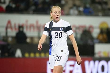 Eveliina Summanen oli Suomen sankari tiistai-iltana.