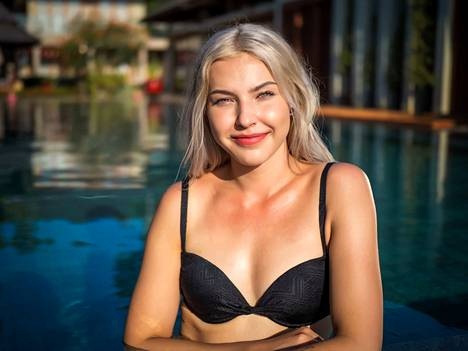 Marina, 20, on kotoisin Tampereelta. Marina pitää Temppareihin osallistumista elämänsä rohkeimpana tekona.