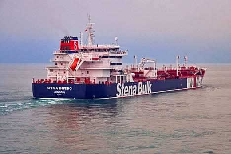 Stena Impero -alukseen ei ole saatu yhteyttä sen jälkeen, kun Iranin vallankumouskaarti kertoi ottaneensa sen haltuunsa.