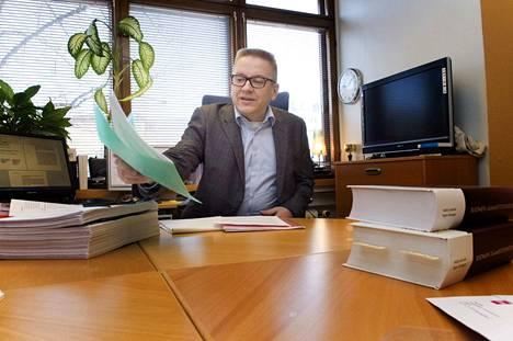 Asianajaja Markku Fredman