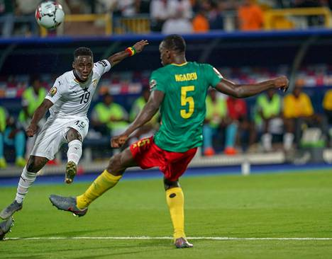 Valkoasuinen Ghana nousi tappioasemasta 3–2-voittoon edellisessä ottelussa Kamerunia vastaan.