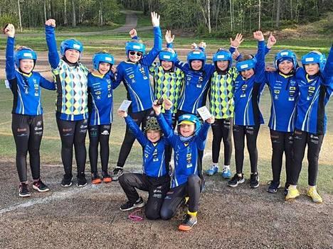 Jymyn F-tytöt voittivat Rauman Feraa vastaan pelatun ottelun.