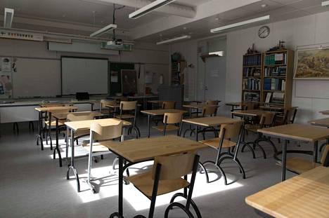 Lastensuojeluilmoitusten määrä väheni etäkoulun aikana selvästi. Porin yhteistoiminta-alueella koulujen kautta tuli etäkoulun aikana vain kolme lastensuojeluilmoitusta. Vuotta aiemmin niitä tuli samalla ajanjaksolla 30. Arkistokuva.