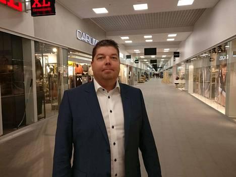 Kolmas Ideapark. Tuomas Henttula on johtanut Seinäjoen Ideapark-hanketta.