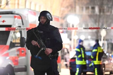 Saksassa tapahtui aseellinen hyökkäys keskellä yötä.