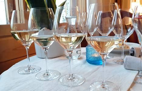 Pirteää ja hedelmäistä. Suomalaisten kesäisestä ruokapöydästä löytyy yhä useammin juomana rosee -ja valkoviinit, joiden myynti on kasvanut viime vuosien aikana vahvasti.