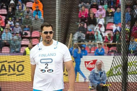Frantz Kruger Ruotsi-ottelussa vuonna 2016.