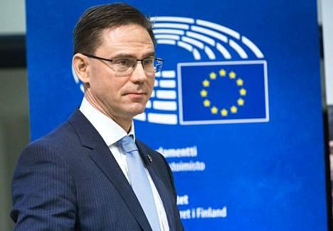 EU-komissaari Jyrki Katainen on Sitran hallituksen ykkösehdokas yliasiamieheksi.