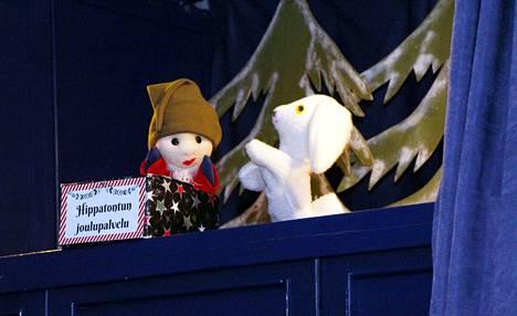 Hippa-tonttu pelasti metsän väen joulun ja oli suureksi avuksi pukin tontuillekin.