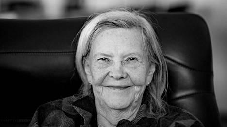 Tiina Rinne täytti 90 vuotta toukokuussa 2019.