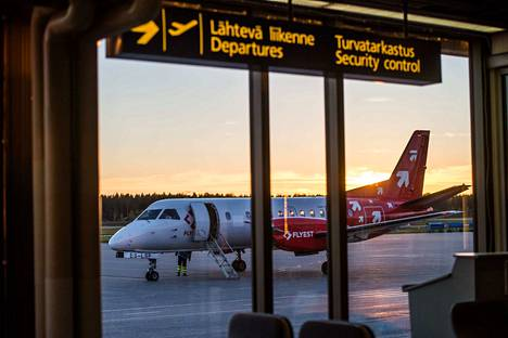 Porin lentoaseman apulaispäällikkö Kai Ilkan mukaan terminaaliin on luvassa parannuksia.