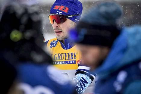 Ristomatti Hakolan erässä sattui ja tapahtui starttipaikalla.
