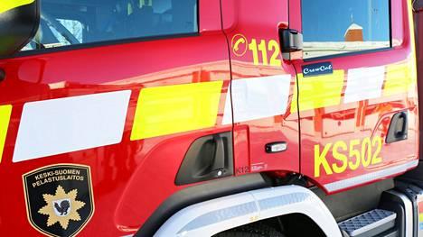 Savuhavainto Haapamäen teollisuusalueelta johti palokunnan hälyttämiseen.