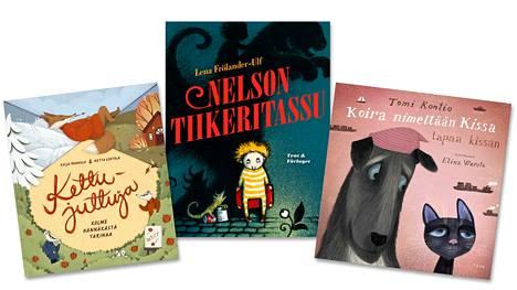 Kirjallisuuden Finlandia-syksy käynnistyy lasten- ja nuortenkirjallisuuden palkintoehdokkaiden julkistamisella. Ehdokkaina on muun muassa kolme lasten kuvitettua kirjaa.