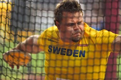 Daniel Ståhl heitti Dohassa MM-kultaa.