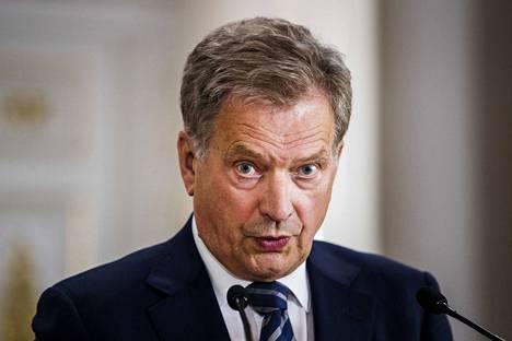Tasavallan presidentti Sauli Niinistö esitti puheessaan huolensa, että koronapandemia voi kiihdyttää olemassa olevia konflikteja maailmalla.
