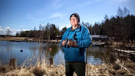 Janne Lampolahti ja lapsuudesta rakkaat maisemat. Preiviikin rannoilla sijaitsi Lampolahden mummun mökki ja täällä hän oppi uimaan sekä sai tarkkailla luontoa.