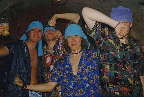 Apulanta-yhtye Torremolinosissa vuonna 2000.