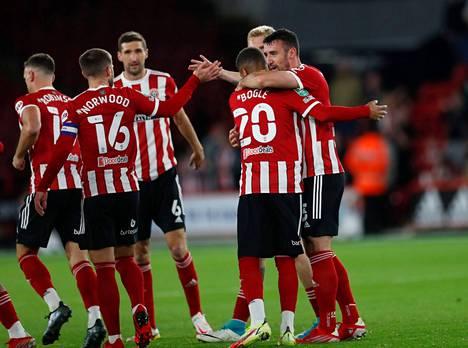 Sheffield United on tehnyt mukavasti 12 maalia kahdeksaan ensimmäiseen peliin, mutta omissa on soinut yhtä monta kertaa.