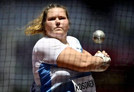 Nuorten EM- ja MM-kultaa sekä nuorten maailmanennätys. Silja Kososen kesä on ollut täydellinen.