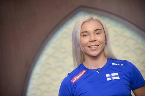 Taika Koilahti on tällä kaudella hypännyt parhaimmillaan 669.