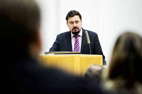 Mänttä-Vilppulan kaupunginjohtaja Markus Auvinen irtisanoutui tehtävistään maanantaina.