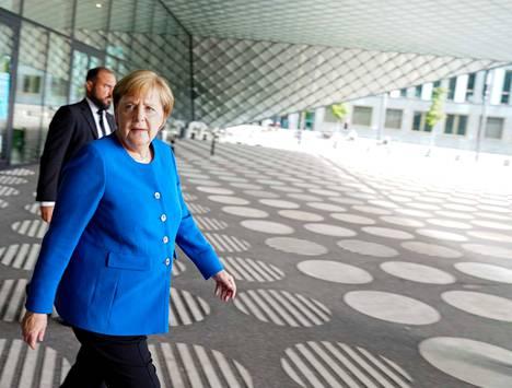 Saksan liittokansleri Angela Merkel on painottanut, että ilmastotoimilla on oltava kansalaisten hyväksyntä.