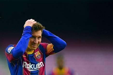 Lionel Messi ei jatka Barcelonan paidassa.