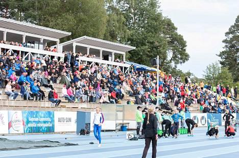 Viime kesänä Kalevan Kisat käytiin Lappeenrannassa.